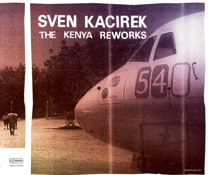 The Kenya Sessions remixes - 10inch